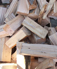 Brennholz – vorgetrocknet